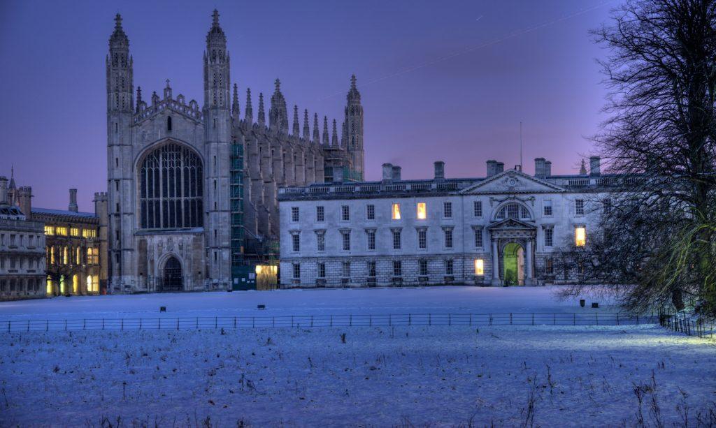 King's College carols Image credit: Flcherb, CC BY-SA 3.0